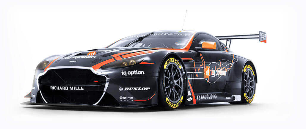 Aston Martin Racing Official Partner